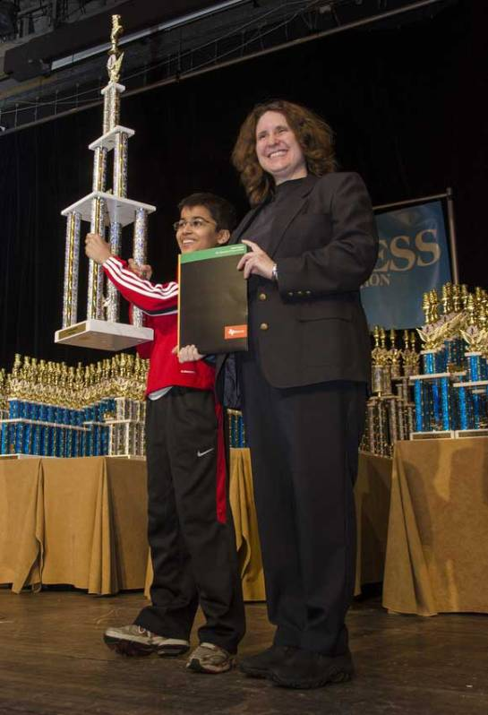 Akshat Chandra with Dr. RootIt felt great lifting the  Trophy