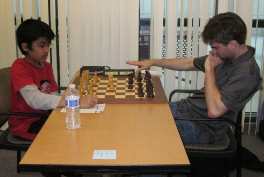 Akshat Chandra Vs GM Sam Shankland
