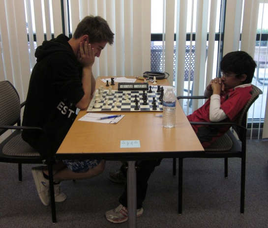 Final round - Aleksandr Ostrovskiy  and Akshat Chandra