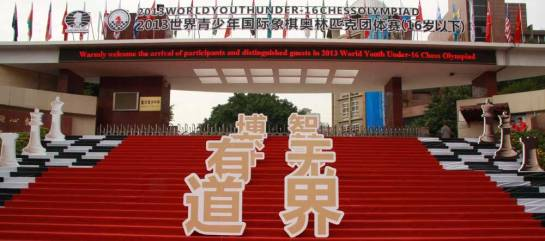 Venue for The World Junior Olympiad 2013, Chongqing, China