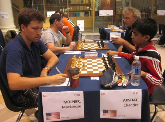 Mackenzie Molinar Vs Akshat Chandra - Duelling it out.  Hic! Some hallucinations too :)