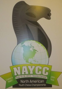 The North American Youth Chess Championship 2013
